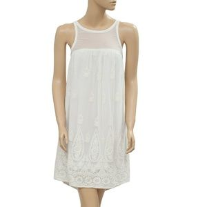 Abercrombie & Fitch Embroidered Cutout Dress S
